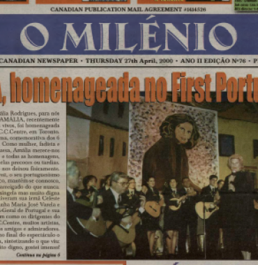 O MILENIO: 2000/04/27 Issue 76