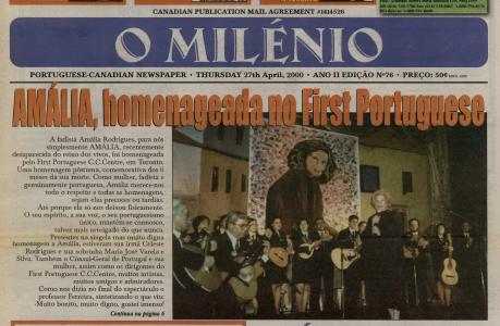 O MILENIO: 2000/04/27 Issue 76