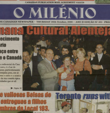 O MILENIO: 2000/10/26 Issue 102