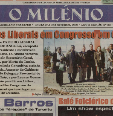 O MILENIO: 2000/11/02 Issue 103