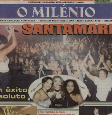 O MILENIO: 2000/11/09 Issue 104