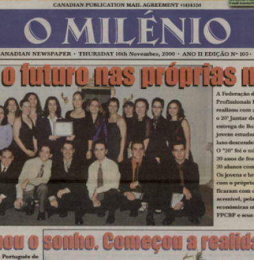 O MILENIO: 2000/11/16 Issue 105