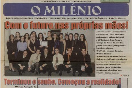 O MILENIO: 2000/11/16 Issue 105