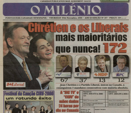 O MILENIO: 2000/11/30 Issue 107