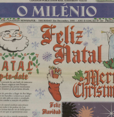 O MILENIO: 2000/12/21 Issue 110