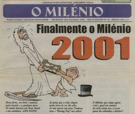 O MILENIO: 2000/12/28 Issue 111