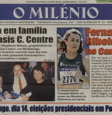 O MILENIO: 2001/01/11 Issue 113