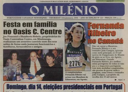 O MILENIO: 2001/01/11 Issue 113