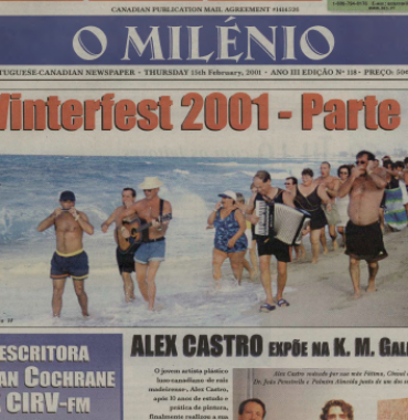 O MILENIO: 2001/02/15 Issue 118