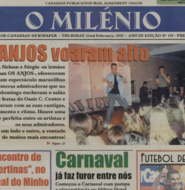 O MILENIO: 2001/02/22 Issue 119