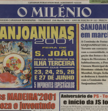 O MILENIO: 2001/03/15 Issue 122