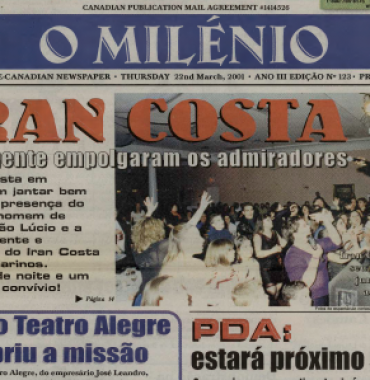 O MILENIO: 2001/03/22 Issue 123