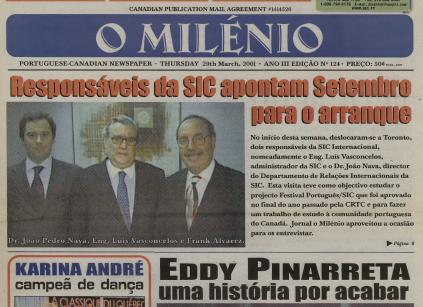 O MILENIO: 2001/03/29 Issue 124