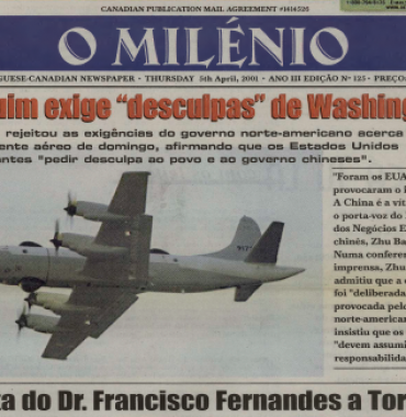 O MILENIO: 2001/04/05 Issue 125