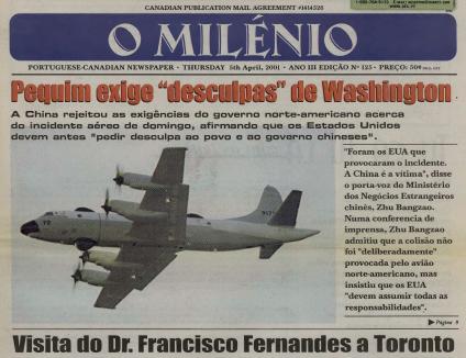 O MILENIO: 2001/04/05 Issue 125