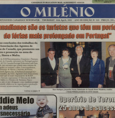 O MILENIO: 2001/04/12 Issue 126