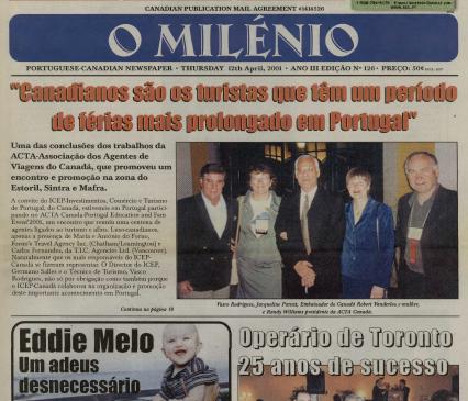 O MILENIO: 2001/04/12 Issue 126