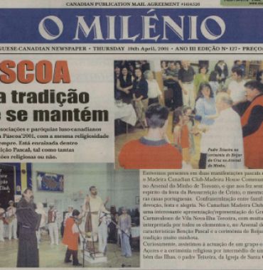 O MILENIO: 2001/04/19 Issue 127