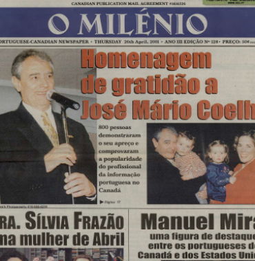 O MILENIO: 2001/04/26 Issue 128