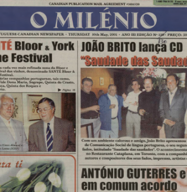 O MILENIO: 2001/05/10 Issue 130