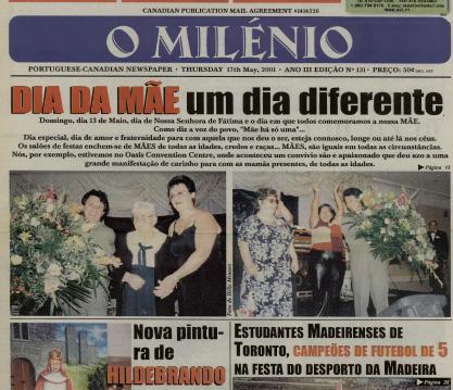 O MILENIO: 2001/05/17 Issue 131