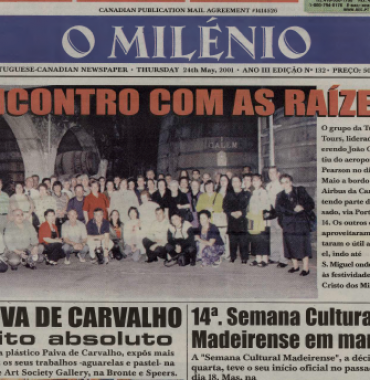 O MILENIO: 2001/05/24 Issue 132