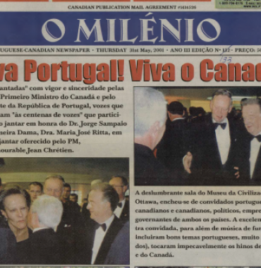 O MILENIO: 2001/05/31 Issue 133
