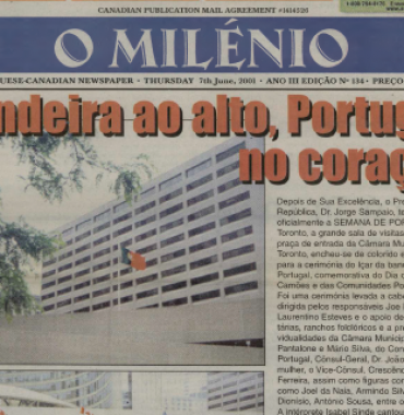 O MILENIO: 2001/06/07 Issue 134