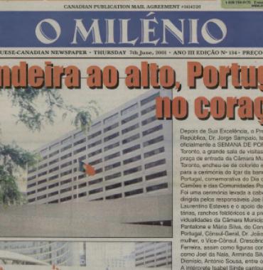 O MILENIO: 2001/06/07 Issue 134