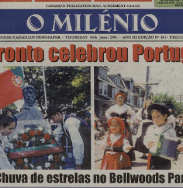 O MILENIO: 2001/06/14 Issue 135