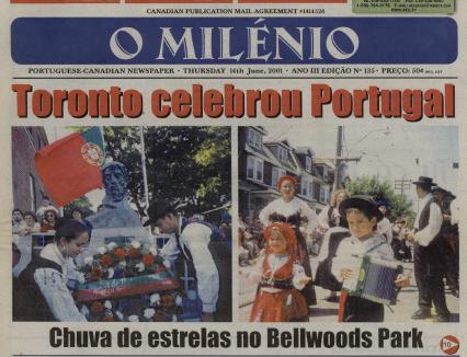 O MILENIO: 2001/06/14 Issue 135
