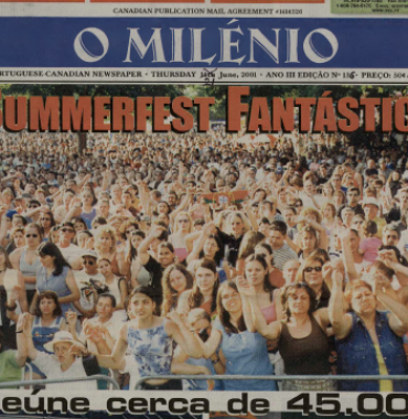 O MILENIO: 2001/06/21 Issue 136