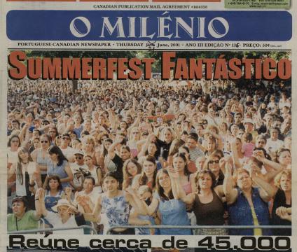 O MILENIO: 2001/06/21 Issue 136