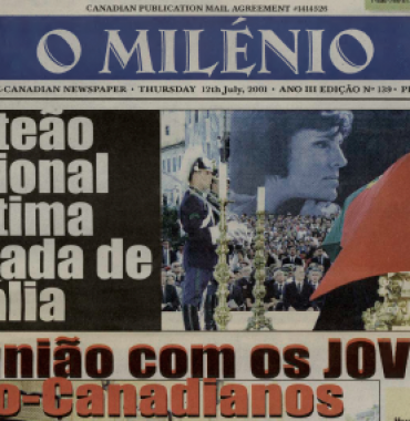 O MILENIO: 2001/07/12 Issue 139