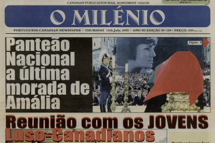 O MILENIO: 2001/07/12 Issue 139
