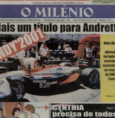 O MILENIO: 2001/07/19 Issue 140