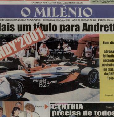 O MILENIO: 2001/07/19 Issue 140