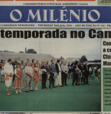 O MILENIO: 2001/07/26 Issue 141