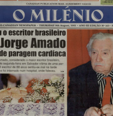 O MILENIO: 2001/08/09 Issue 143