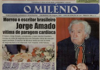 O MILENIO: 2001/08/09 Issue 143