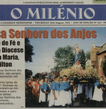 O MILENIO: 2001/08/16 Issue 144