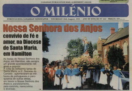 O MILENIO: 2001/08/16 Issue 144