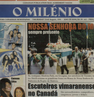 O MILENIO: 2001/08/23 Issue 145