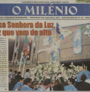 O MILENIO: 2001/09/06 Issue 147