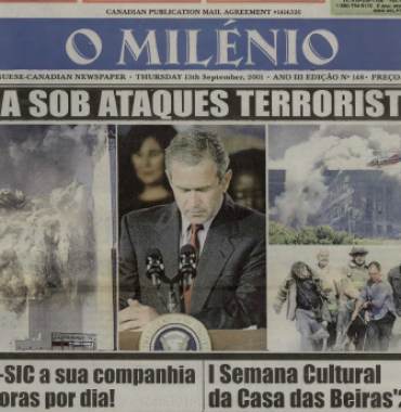 O MILENIO: 2001/09/13 Issue 148