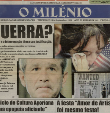 O MILENIO: 2001/09/20 Issue 149