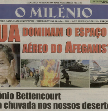 O MILENIO: 2001/10/11 Issue 152