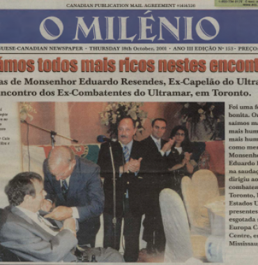 O MILENIO: 2001/10/18 Issue 153
