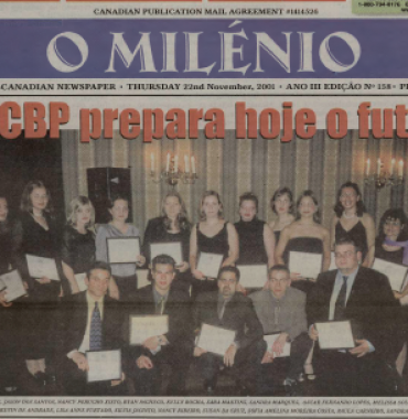 O MILENIO: 2001/11/22 Issue 158
