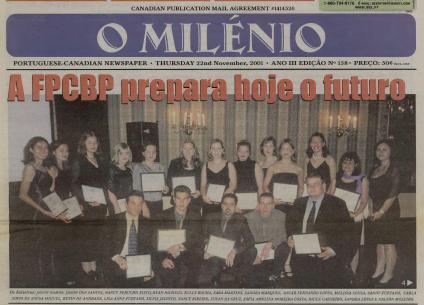 O MILENIO: 2001/11/22 Issue 158